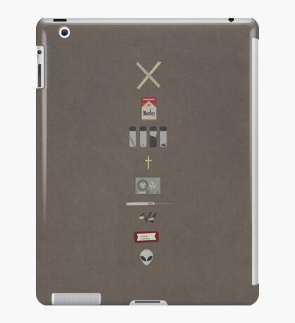 x-files iPad Case/Skin