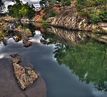 Down By The River - HDR by peterperfect