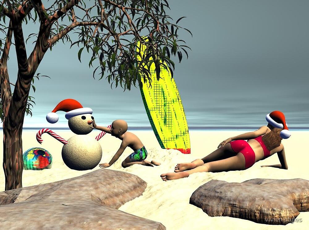 Aussie Christmas by vivien styles