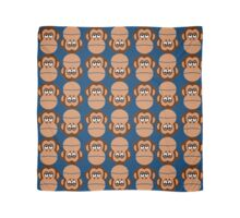Chimps on Blue Background Scarf