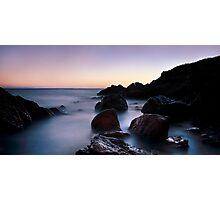 broadsands rocks 3 Photographic Print
