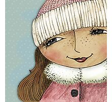 Cindy Looks forward to Winter Photographic Print
