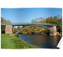 Coalport Bridge as the leaves turn yellow Poster