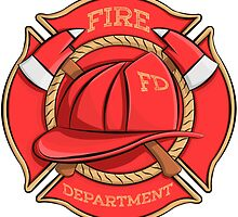 Firefighter's Badge by AnMGoug
