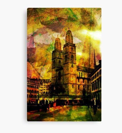 Autumn Grossmunster Canvas Print