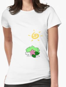 Hay Shaymin! Womens Fitted T-Shirt