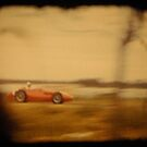red racing car by Soxy Fleming