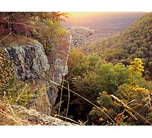 Early Morning Sun, Hawks Bill Craig Photographic Print