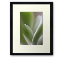 Flow  - JUSTART © Framed Print