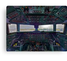 DC7B Cockpit Canvas Print