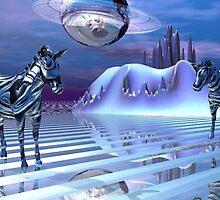 A Zebra's Alternate Reality by Tanya Newman