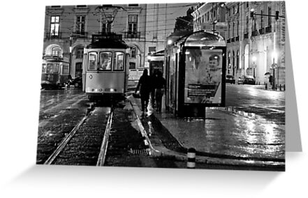The last tramway by Nayko