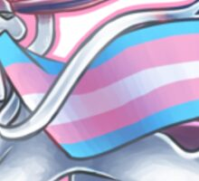 Sylveon Transgender Pride Sticker Sticker