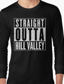 A Hood Place to Live Long Sleeve T-Shirt