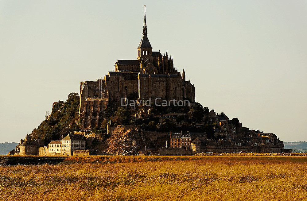 Mont Saint Michel, France (The Marvel) by buttonpresser