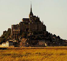 Mont Saint Michel, France (The Marvel) by buttonpresser