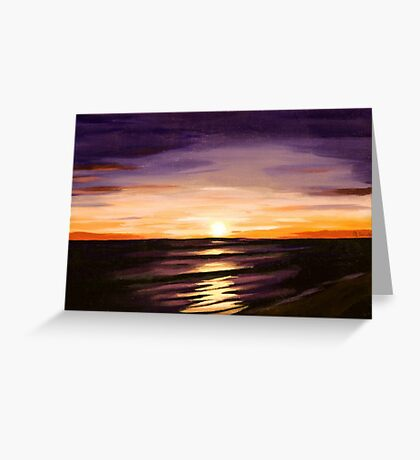 The Shoreline Greeting Card