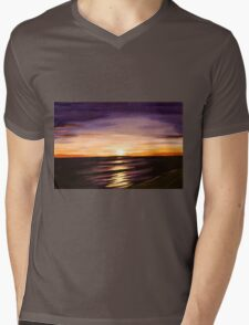 The Shoreline Mens V-Neck T-Shirt