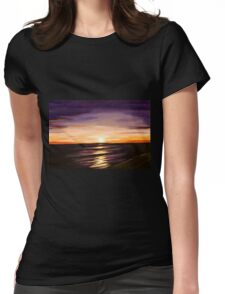 The Shoreline Womens Fitted T-Shirt