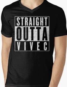 Adventurer with Attitude: Vivec Mens V-Neck T-Shirt