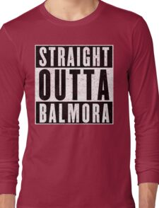 Adventurer with Attitude: Balmora Long Sleeve T-Shirt