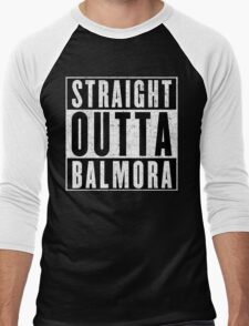 Adventurer with Attitude: Balmora Men's Baseball ¾ T-Shirt