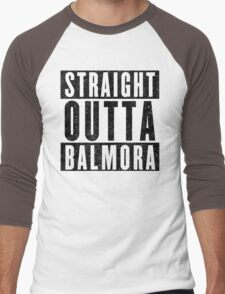 Adventurer with Attitude: Balmora Men's Baseball ¾ T-Shirt