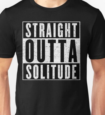 Adventurer with Attitude: Solitude Unisex T-Shirt