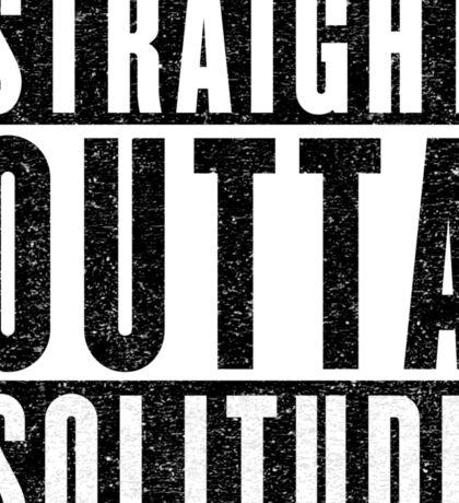 Adventurer with Attitude: Solitude Sticker