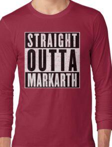 Adventurer with Attitude: Markarth Long Sleeve T-Shirt