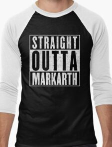 Adventurer with Attitude: Markarth Men's Baseball ¾ T-Shirt