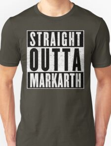 Adventurer with Attitude: Markarth Unisex T-Shirt