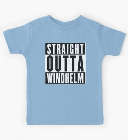 Adventurer with Attitude: Windhelm Kids Tee