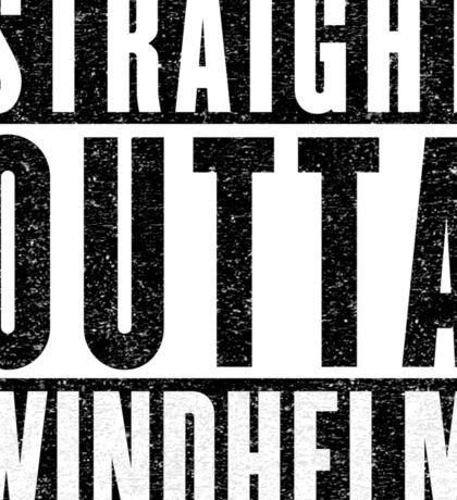 Adventurer with Attitude: Windhelm Sticker