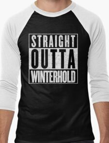 Adventurer with Attitude: Winterhold Men's Baseball ¾ T-Shirt