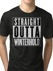 Adventurer with Attitude: Winterhold Tri-blend T-Shirt