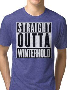 Adventurer with Attitude: Winterhold Tri-blend T-Shirt