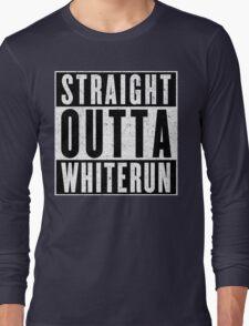 Adventurer with Attitude: Whiterun Long Sleeve T-Shirt
