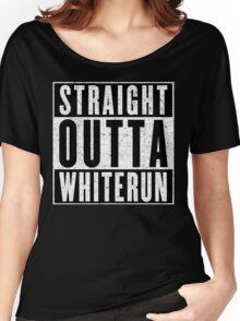 Adventurer with Attitude: Whiterun Women's Relaxed Fit T-Shirt