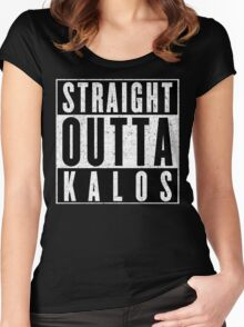 Trainer with Attitude: Kalos Women's Fitted Scoop T-Shirt