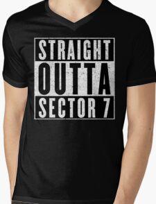 Sector 7 Represent! Mens V-Neck T-Shirt