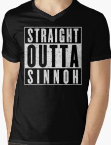 Trainer with Attitude: Sinnoh Mens V-Neck T-Shirt