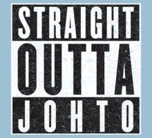 Trainer with Attitude: Johto One Piece - Short Sleeve