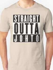 Trainer with Attitude: Johto Unisex T-Shirt