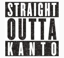 Trainer with Attitude: Kanto Kids Tee