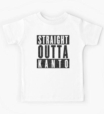 Trainer with Attitude: Kanto Kids Tee