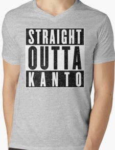 Trainer with Attitude: Kanto Mens V-Neck T-Shirt