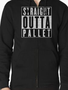 Trainer with Attitude: Pallet Town Zipped Hoodie