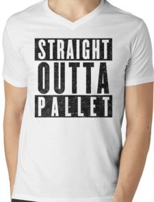 Trainer with Attitude: Pallet Town Mens V-Neck T-Shirt