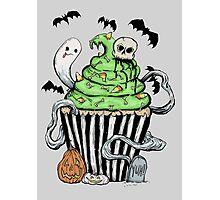 Gothic Cupcake  Photographic Print